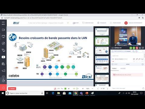[Replay] Le futur de la fibre : webinar BICSI France du 8 oct. 2020