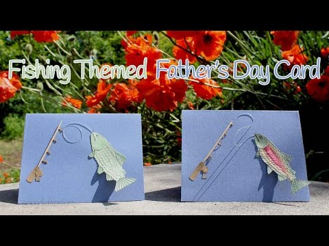 Tutorial: Father's Day Card - Fishing Themed 🐟