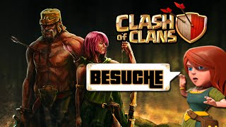 CLASH OF CLANS BESUCHE [4] ★ Let's Play COC ★ German Deutsch HD Android IOS