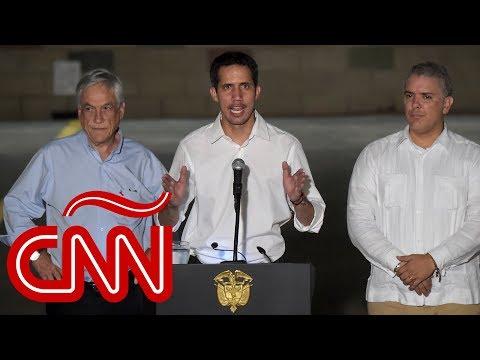 Juan Guaidó en Colombia: El pueblo de Venezuela no está mendigando