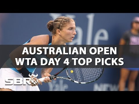 2017 Australian Open | Picks of the Day - WTA Women's Singles | Day 4