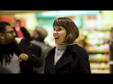 Singing for Syrians Flashmob Marylebone - Raising money for aid to Syria