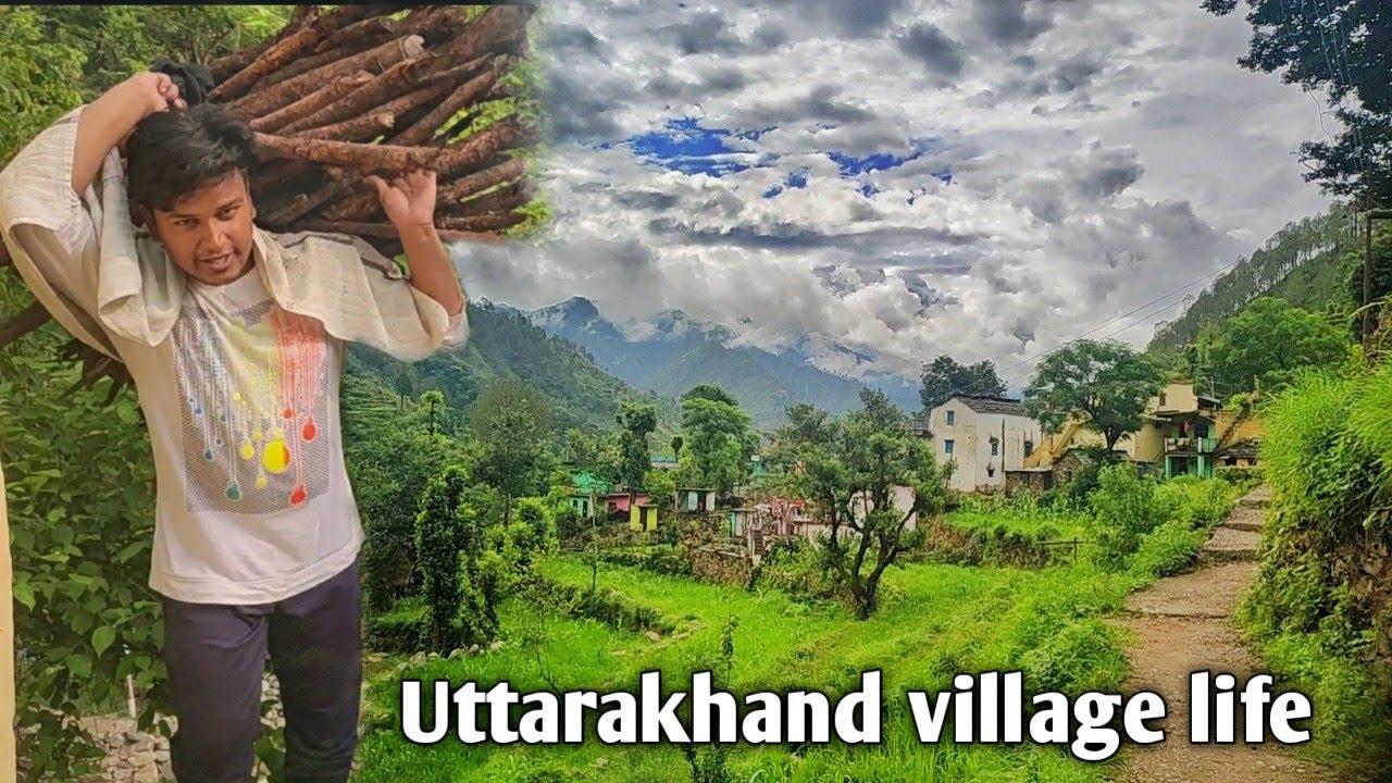 Uttarakhand village life|| पहाड़ो पे रहने वालो का जीवन और दिनचर्या || vivek bisht||uttarakhandi rider