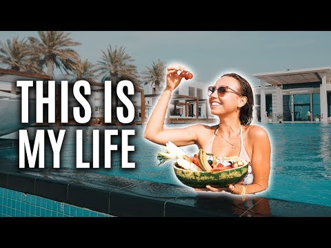 💦🌴Is This The Best Beach Club? Life in Abu Dhabi. Saadiyat B