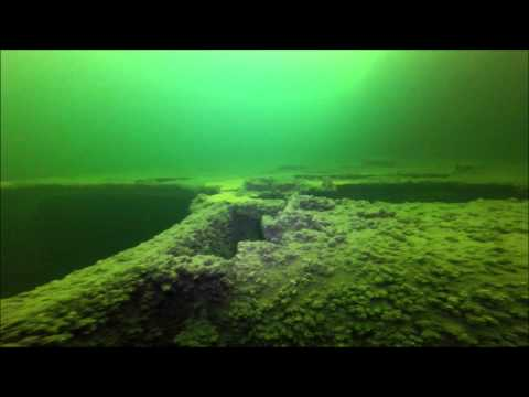 "Baltic sea scuba diving. Wreck W-30 (""Carl Zeiss"") 2014 05 17"