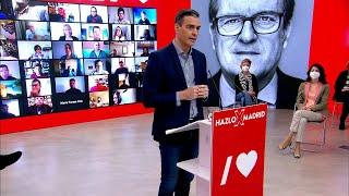 Sánchez pide el voto para un gobierno progresista que vacune