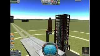 kerbal Space Program 101 - Топливо  Двигатель = Ракета