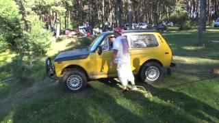Желтая Нива на спецучастке off-road 4x4(На моем канале Вы сможете посмотреть много смешного,интересного,экстримального,веселого видео с соревнова..., 2016-08-30T19:24:43.000Z)
