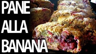 Pane alla Banana - Ricette proteica - pasto post work out