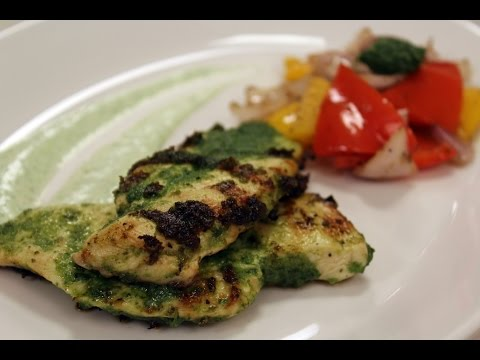 Grilled Pesto Chicken | Sanjeev Kapoor Khazana