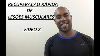 Muscular coxa recuperação da da tensão