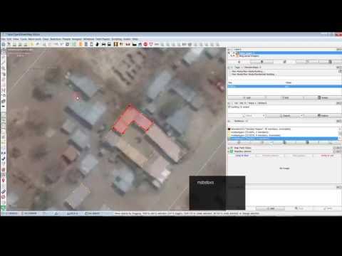 Mapping buildings in Botswana