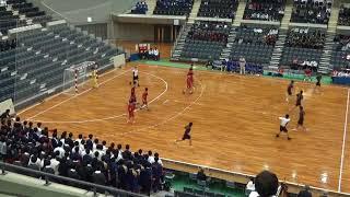 2017高校ハンドボール決勝スーパープレイ 洛北VS法政二 handball final of high school in japan