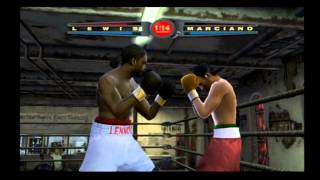 Fight Night 2004 - Lennox Lewis vs Rocky Marciano