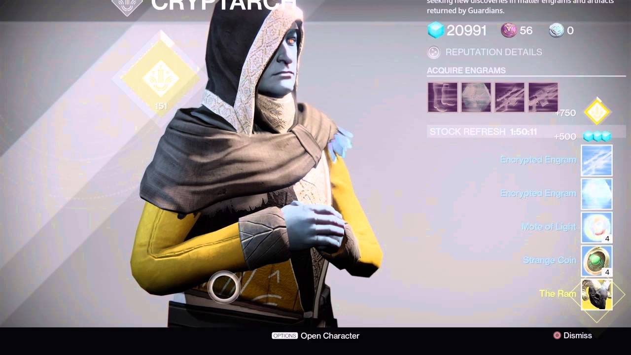 destiny - Legendary engrams, are they biased towards the ...