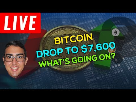 Bitcoin (BTC) Flash Drop To $7,600 – What's Going On?