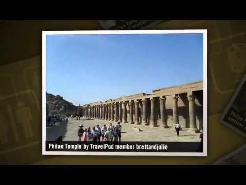 """Philae Temple and Aswan Dam"" Brettandjulie"