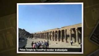 """Philae Temple and Aswan Dam"" Brettandjulie"