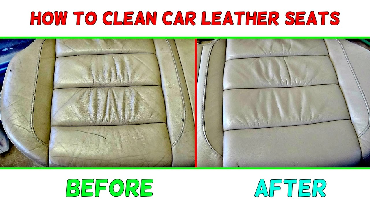 How To Clean Car Leather Seats