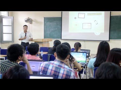 Tập huấn kỹ thuật xây dựng bài giảng điện tử cho giảng viên trẻ