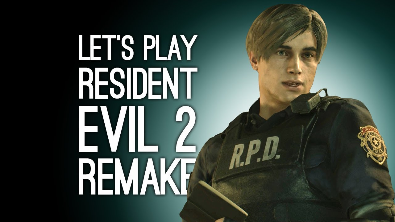 Resident Evil 2 Remake Gameplay Let S Play Resident Evil 2 Remake On Xbox One Baby Leon Noo Youtube