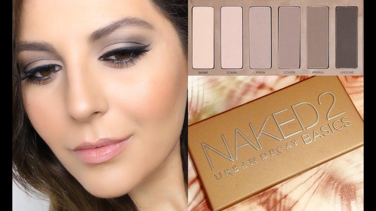 Naked Eyes Palette Basic Tutorial