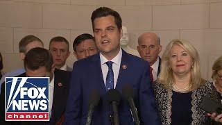House GOP speak after debating Trump articles of impeachment