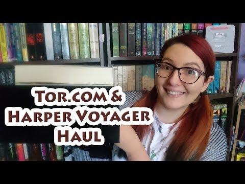 Tor com & Harper Voyager UK Haul 2018