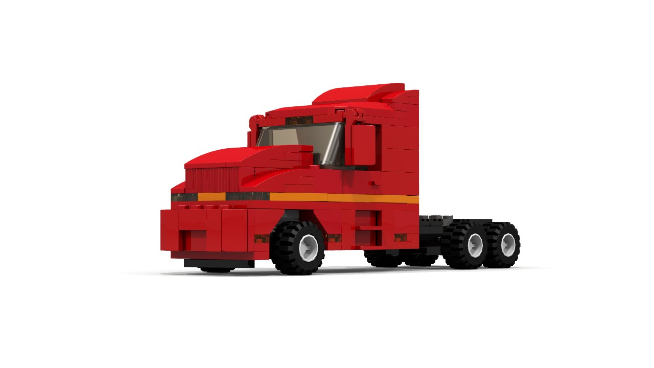 [MOC] LEGO City Semi truck instructions - YouTubeLego City Truck Instructions