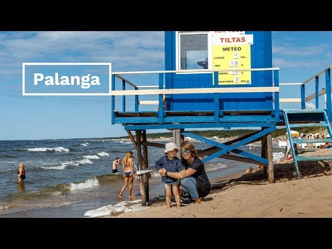 Palanga - Lithuania's most famous seaside resort