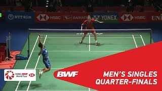 Download Video QF | MS | Viktor AXELSEN (DEN) [1] vs Anthony Sinisuka GINTING (INA) | BWF2018 MP3 3GP MP4