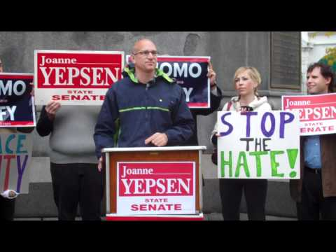 Marty Rouse Speaking at Joanne Yepsen's Rally For Respect