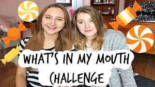 What's in My Mouth Challenge with JessCebula!