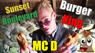MAC D VS BURGERKING VS SUNSET Feat Alexander Husum !