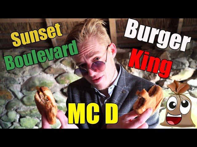 MAC D VS BURGERKING VS SUNSET Feat Alexander Husum !