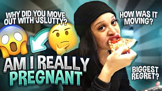 AM I REALLY PREGNANT?!🤰🏽🤫 *updated Q&A*