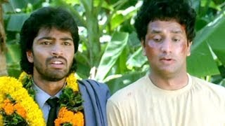Comedy Kings - Srinivas Drive Vehicle And Do Accidents All People Went To Beat Srinivas