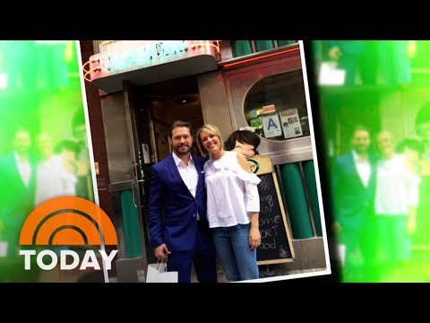 Dylan Dreyer Meets Her Childhood Idol: '90210' Star Jason Priestley | TODAY