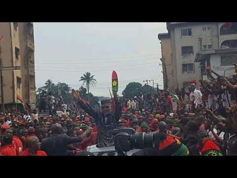 """BIAFRA LATEST UPDATE: NNAMDI KANU """"AMERICAN HAVE MADE ME PROUD TODAY, MY FREEDOM IS SURE. LIVE EVENT"""