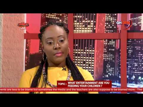 Miss Hagan, Curls-AuNaturel founder on the PUNDITS TV show in Ghana on GHone