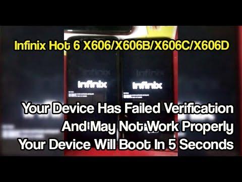 حل مشكله Infinix X606/X606B/ X606D بعد التحديث الهوائى Red State بطريقتين