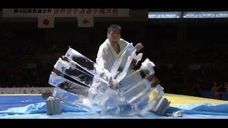 第4回 極真連合杯 世界空手道選手権大会で行われた 七戸康博 師範の演武...