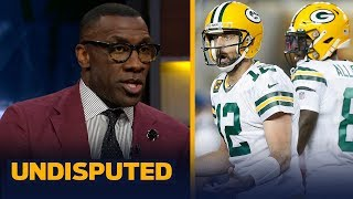 Shannon Sharpe blames Aaron Rodgers for ugly loss to San Francisco   NFL   UNDISPUTED