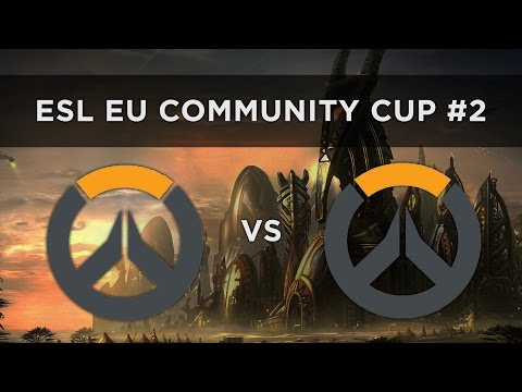 Overwatch 6on6 Community Cup 2 Europe GosuGamers