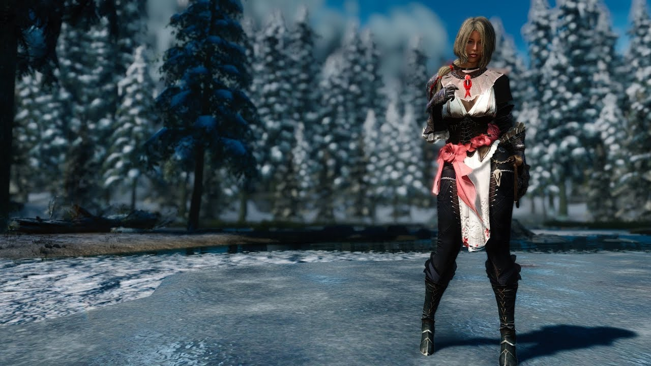 Outfit Heled from BDO HDT PE Skyrim LE for CBBE body (part 1)