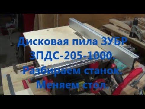 Циркулярный станок - YouTube