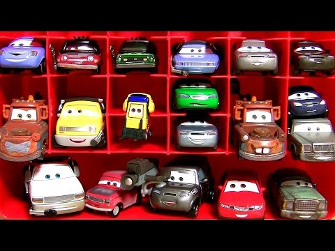 Disney Pixar Cars 2 Mattel Diecasts Mater with Balloon | Mater with Duct Tape Storage Carrying Case