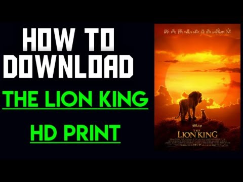 how to download the lion king movie in hindi | the lion king 2019 |