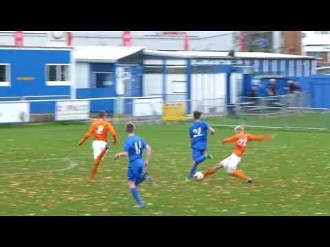 Rugby Town MJPL U16's v Lye Town highlights