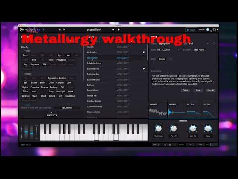 Arturia Pigments 2- Metallurgy Walkthrough